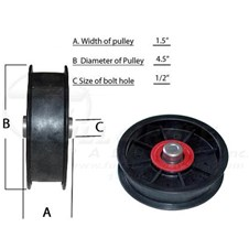 FW45FBB15H12Pulley