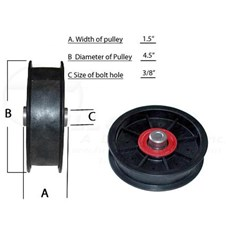FW45FBB15H38Pulley